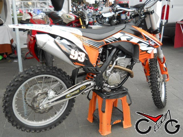 sella moto ktm cross team milani