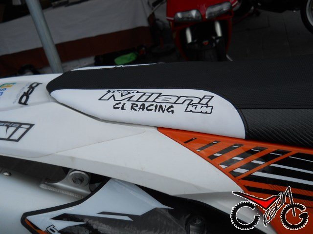 sella moto ktm team milani