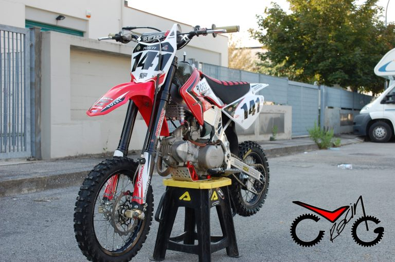 sella moto pit bike ROTEK(2)
