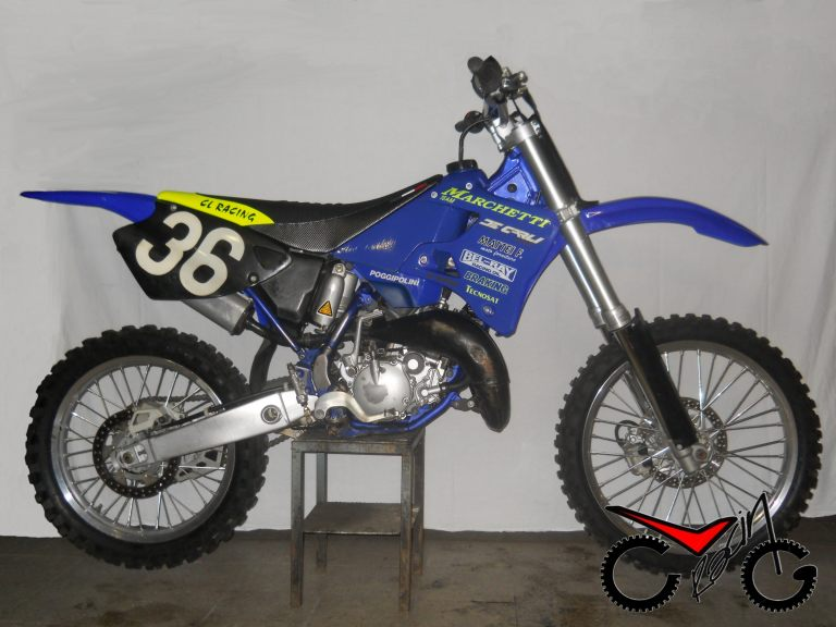 sella moto yamaha cross corsa
